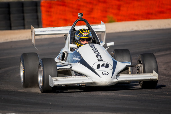 formula mazda racing at Bondurant speedway