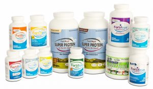 The Fortifeye Vitamins line of nutritional supplements for health of the eyes and whole body