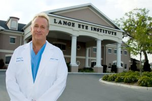 Dr Micheal Lange at the Lange Eye Institute in The Villages, Florida