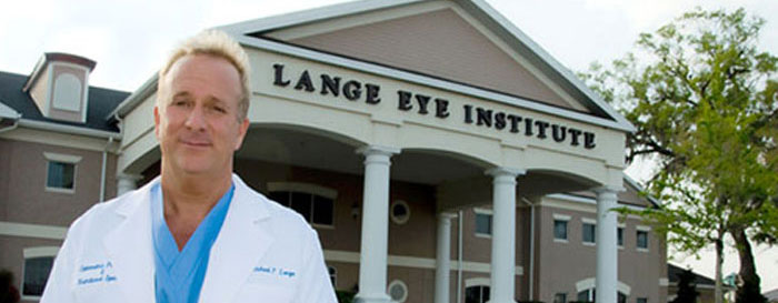 Dr. Michael Lange CEO, The Lange Eye Institute