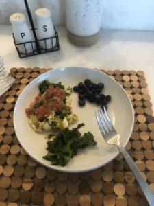Survival diet breakfast