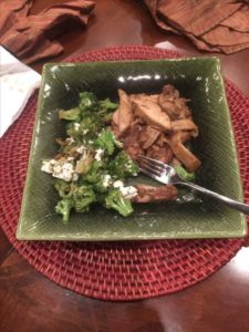 Organic chicken meal