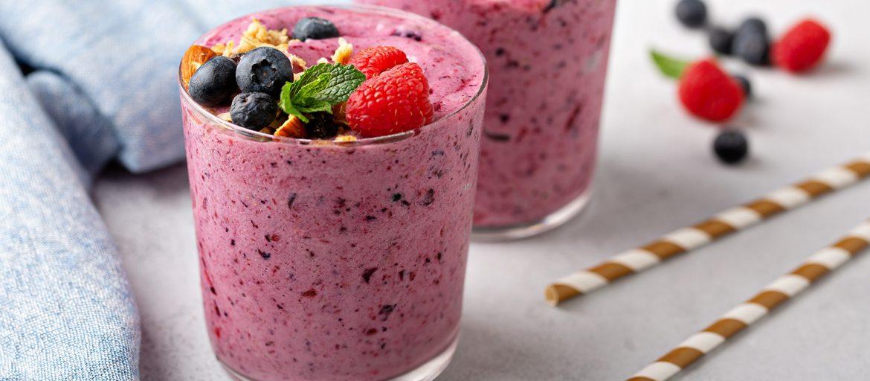 Dr Lange Cashew berry blast smoothie