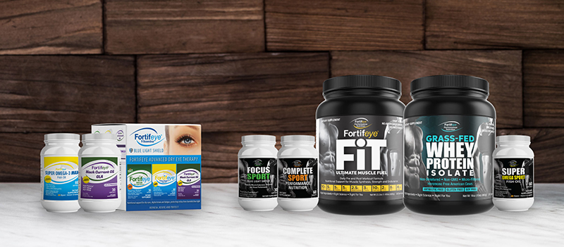 fortifeye performance nutrition line